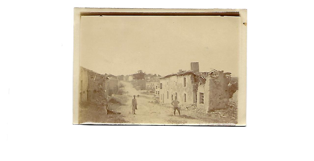 Photos du front 4 – Ruines du village martyr de Flirey (Meurthe et Moselle)
