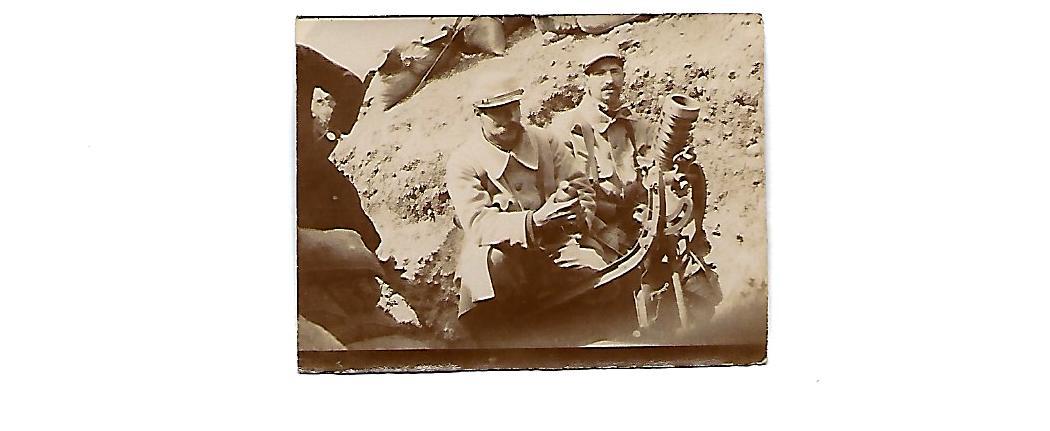 Photos du front 7 – L'Artillerie
