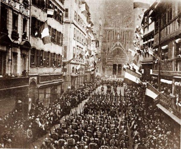 Spécial Centenaire de l'Armistice – Lettres de novembre 1918 – Entrée solennelle dans Strasbourg