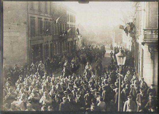 Spécial Centenaire de l'Armistice – lettres de novembre 1918: courrier du 25 novembre