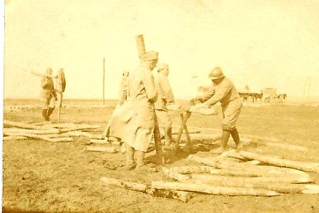 Front 1ère partie : Travaux d'organisation, suite – mars 1916