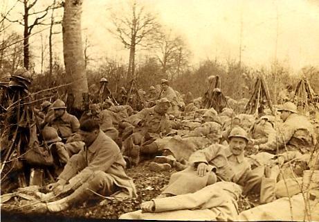 Front 1ère partie : En route pour la Bataille –  Verdun (1) – mars 1916