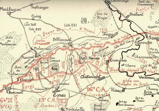 Front 1ère partie : Verdun (8) «On les aura !» avril 1916